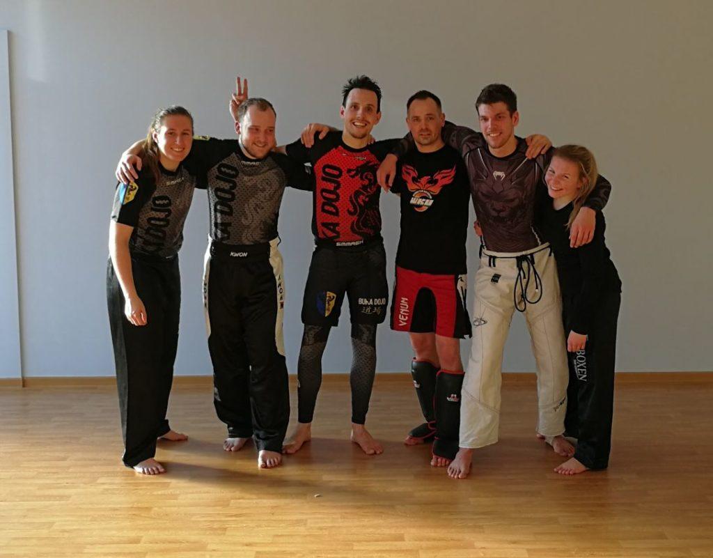 Gruppenfoto der Trainingsteilnehmer