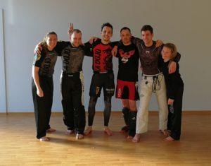 Gemeinschaftstraining Jujutsu & BJJ, Kickboxen und Boxen